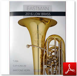 Eastman 2016 low brass catalog