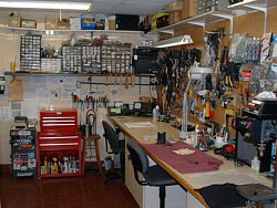 Our electronics repair shop