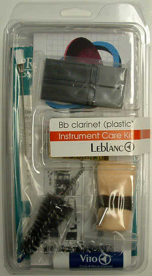 Leblanc Composite (Plastic) Bb Clarinet Care Kit