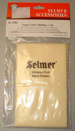 Selmer Plated Finish Polishing Cloth