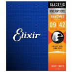 Elixir Nanoweb Nickel Coated Electic Guitar Strings