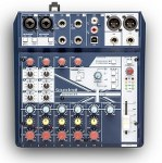 SoundCraft NotePad8FX 5 Channel Compact Unpowered Mixer