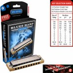 Hohner Blues Harp MS Diatonic Harmonica