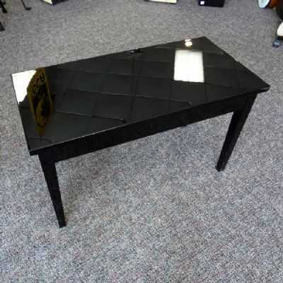 Kawai Duet Polished Ebony Grand Piano Bench with Storage