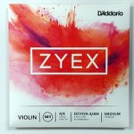 D'Addario Zyex Violin 4-4 String Set with Aluminum-wound D String