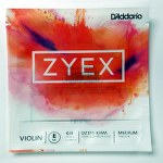 D'addario Zyex Violin Single 4/4 E String