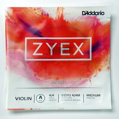 D'addario Zyex Violin Single 4/4 A String