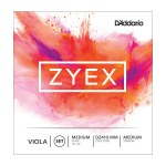 D'Addario Zyex Viola Medium Scale String Set