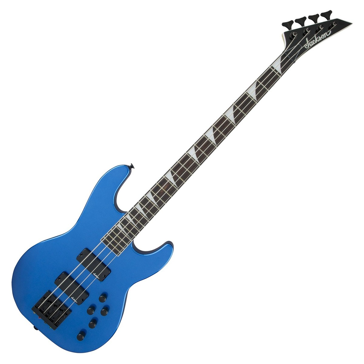 Jackson JS3 Concert Glossy Blue Electric Bass