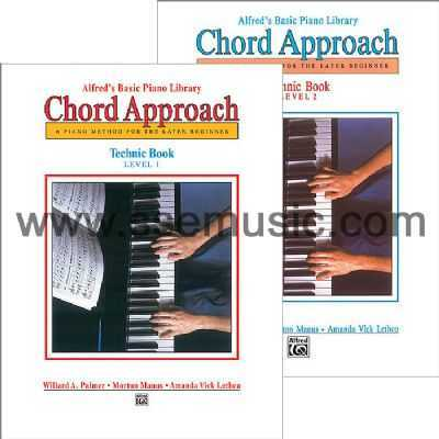 Alfreds Basic Piano Library Chord Approach Technic Book Piano