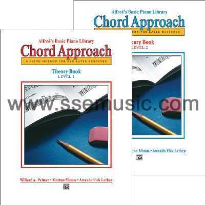Alfreds Basic Piano Library Chord Approach Theory Book Piano