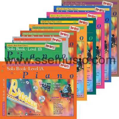 Alfred's Basic Piano Library Top Hits! Solo Book