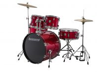 Ludwig LC170 Accent Fuse Drum Kit - Red