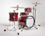 Ludwig Breakbeats Wine Red Compact Drum Shell Pack