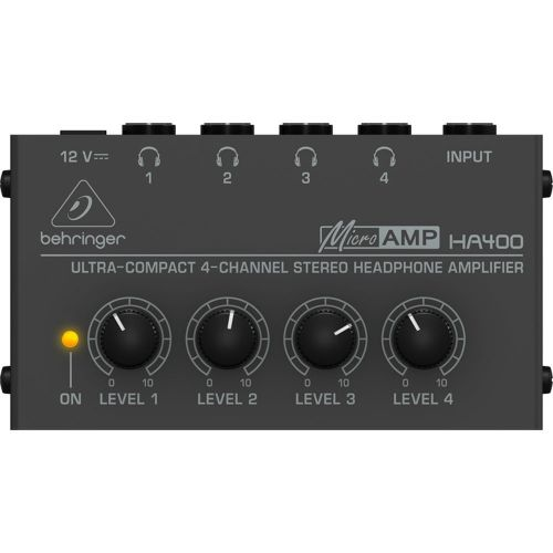 Behringer HA400 4 Channel Stereo Headphone Amp