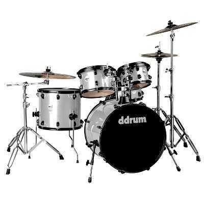 ddrum Journeyman Gen. 2 Player Silver Sparkle Drum Set