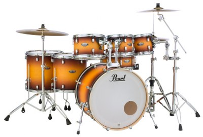 Pearl Decade Maple Amburst 7pc Drum Shell Pack