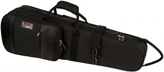Protec MX044 4/4 Violin Shaped MAX Case, Black
