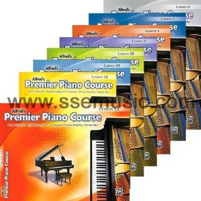Alfred's Premier Piano Course Lesson Book