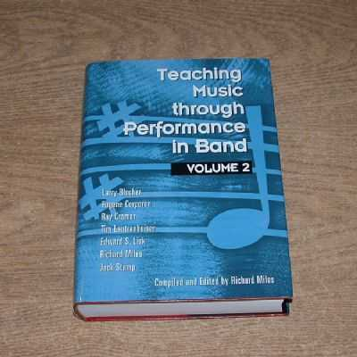 Teaching Music Through Performance In Band Volume 2